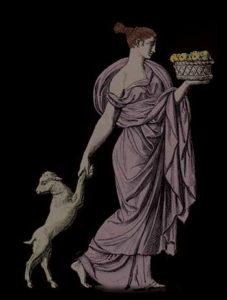 woman-fruit-lamb